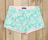 Antigua Blue Reef | Brighton Short | Reef | Womens Shorts | Front