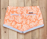 Coral Reef | Brighton Short | Reef | Womens Shorts | Back