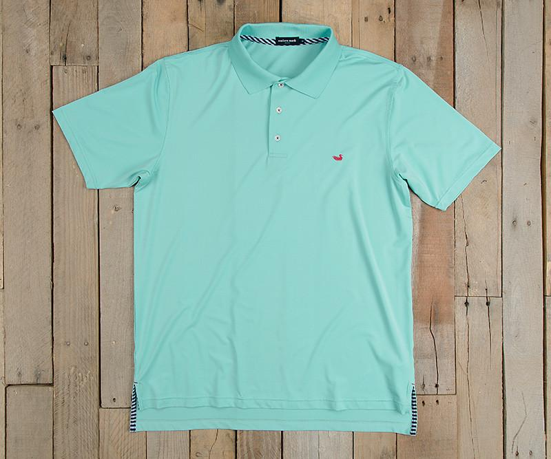 Bermuda Performance Polo | Antigua Blue