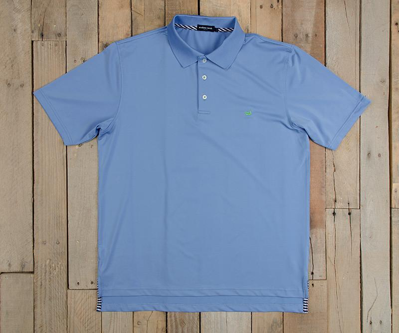 Bermuda Performance Polo | Breaker Blue