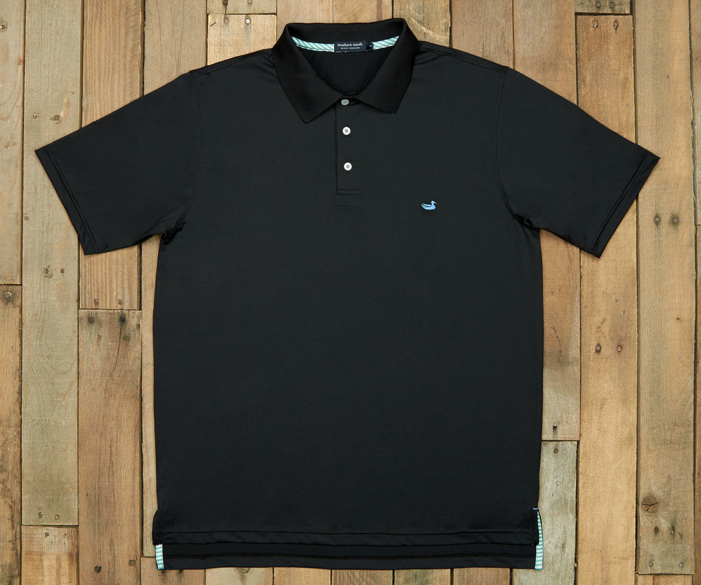 Bermuda Performance Polo | Black