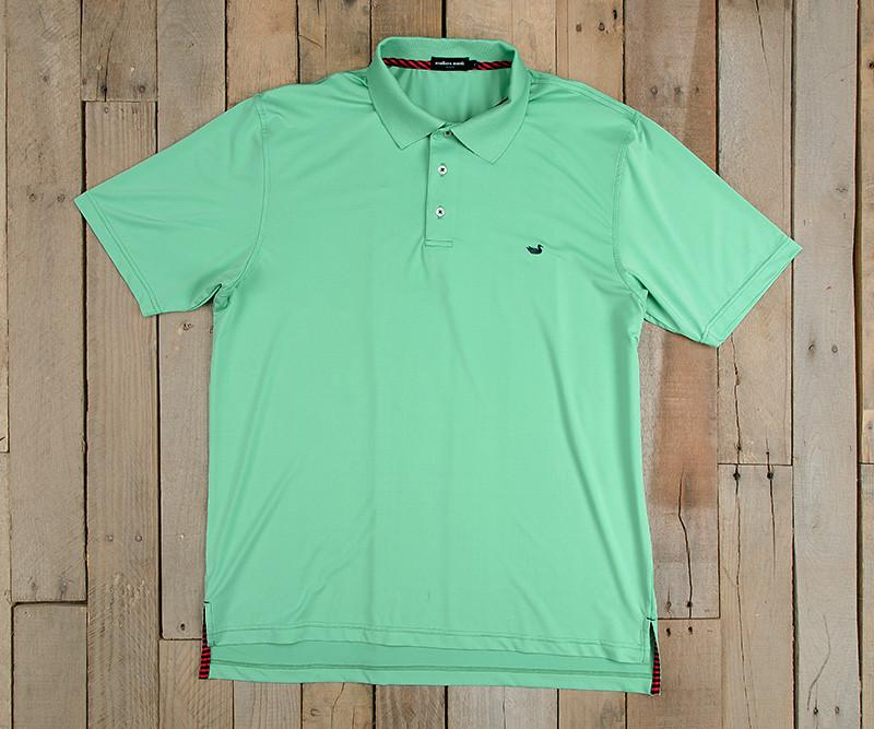 Bermuda Performance Polo | Bimini Green