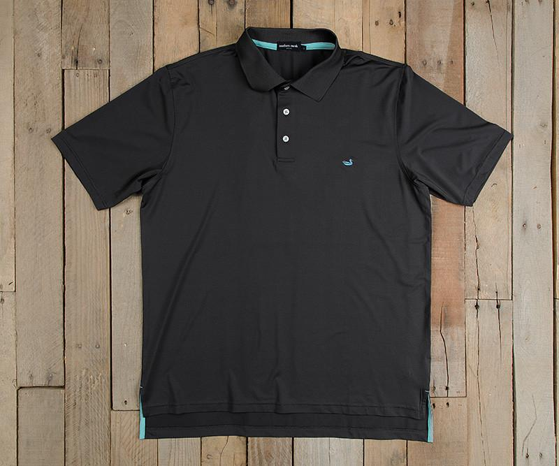 Bermuda Performance Polo | Midnight Gray