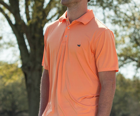 Bermuda Performance Polo - Solid - Mercer University