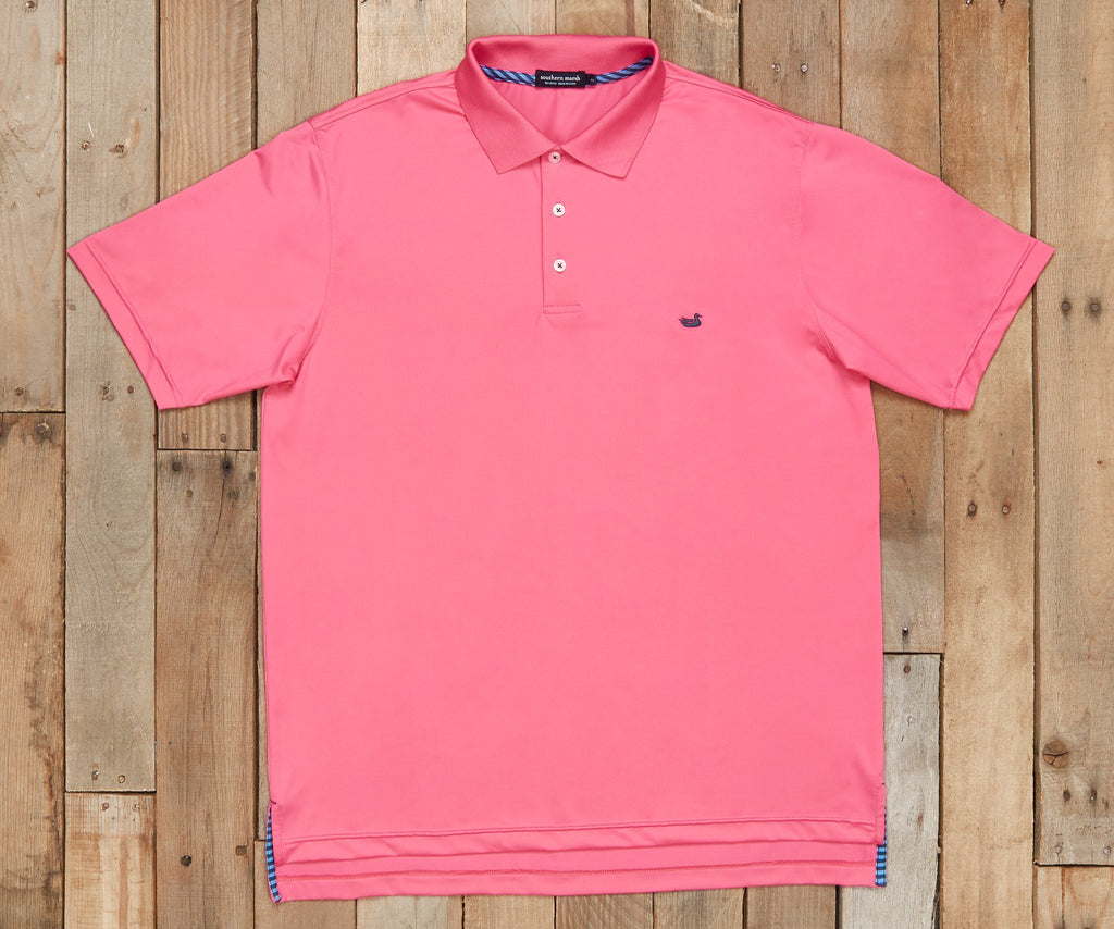 Bermuda Performance Polo | Pink Performance