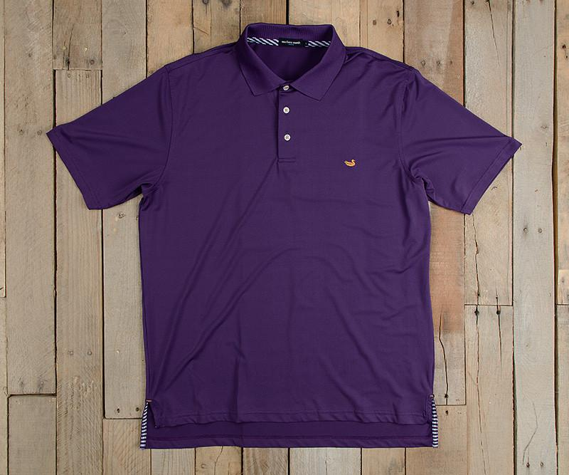 Bermuda Performance Polo | Purple