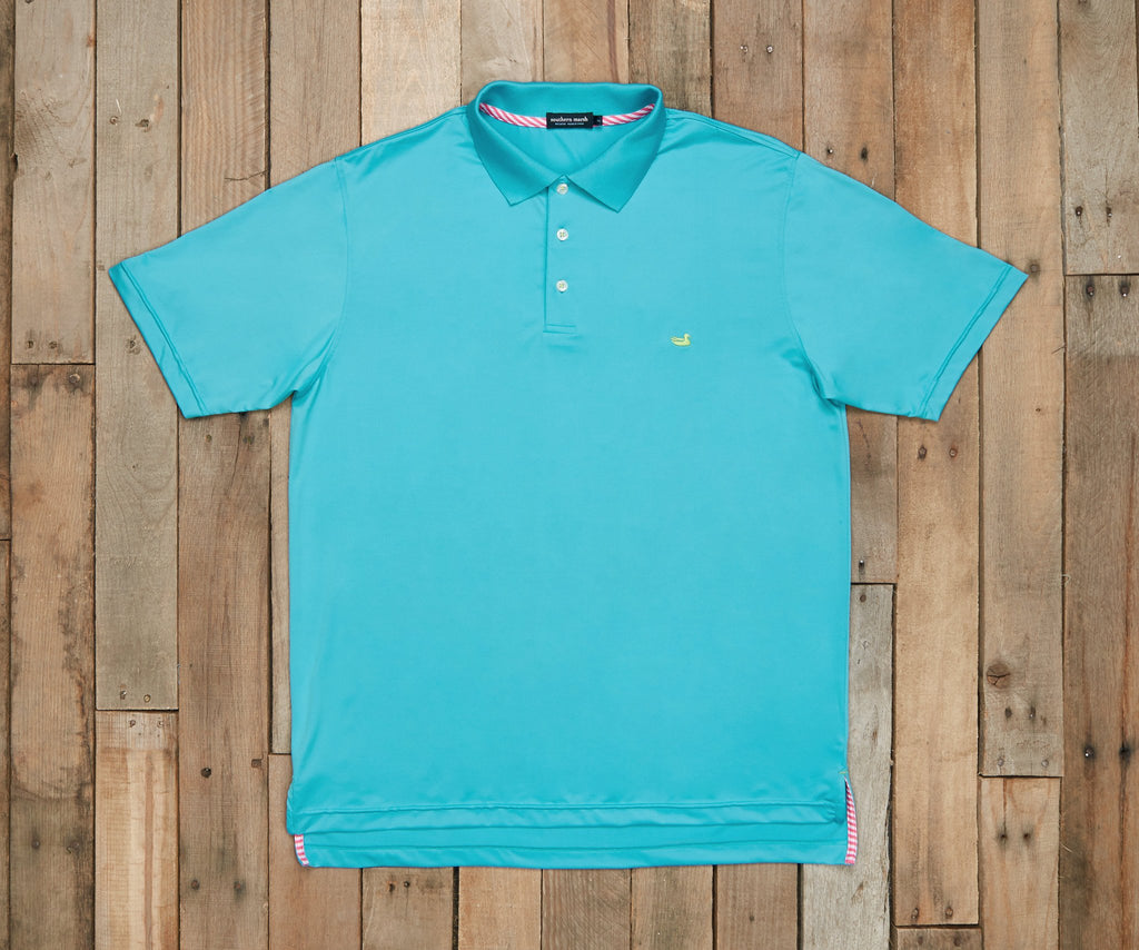 Bermuda Performance Polo | Teal | Southern Marsh