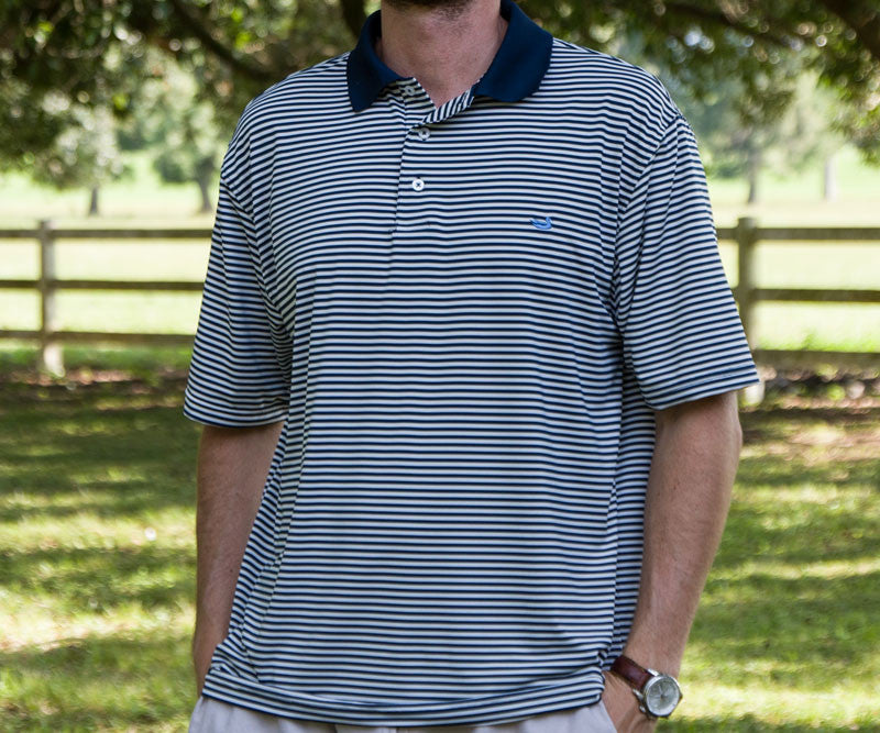 Bermuda Performance Polo - Striped - Georgia Southern University