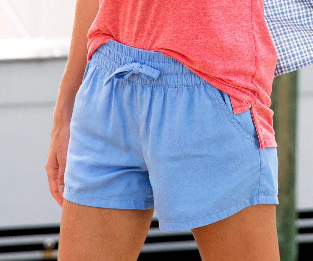 Lilac | Rachel Relaxed Shorts | Womens Shorts