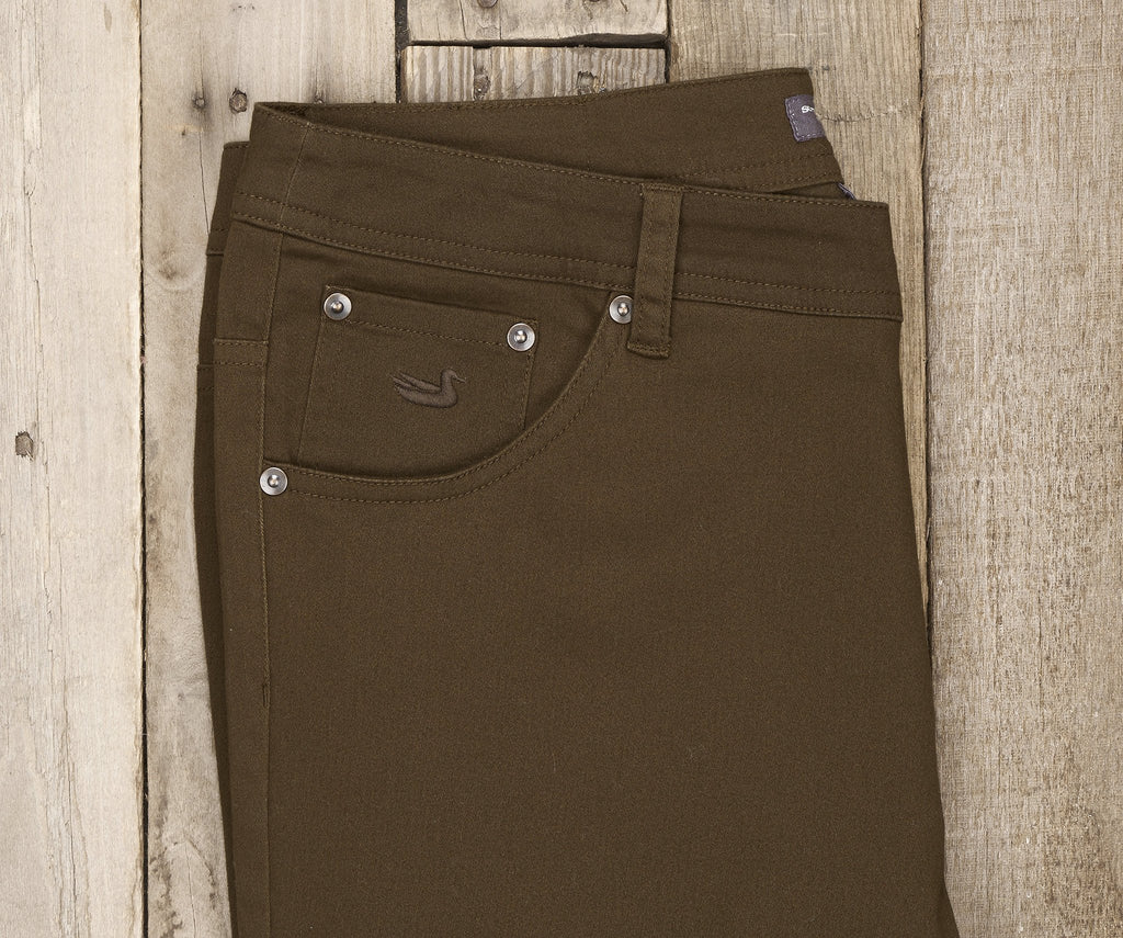 Dark Brown Brazos | Brazos Stretch Twill Pant | 34in. Inseam | Men's Pants