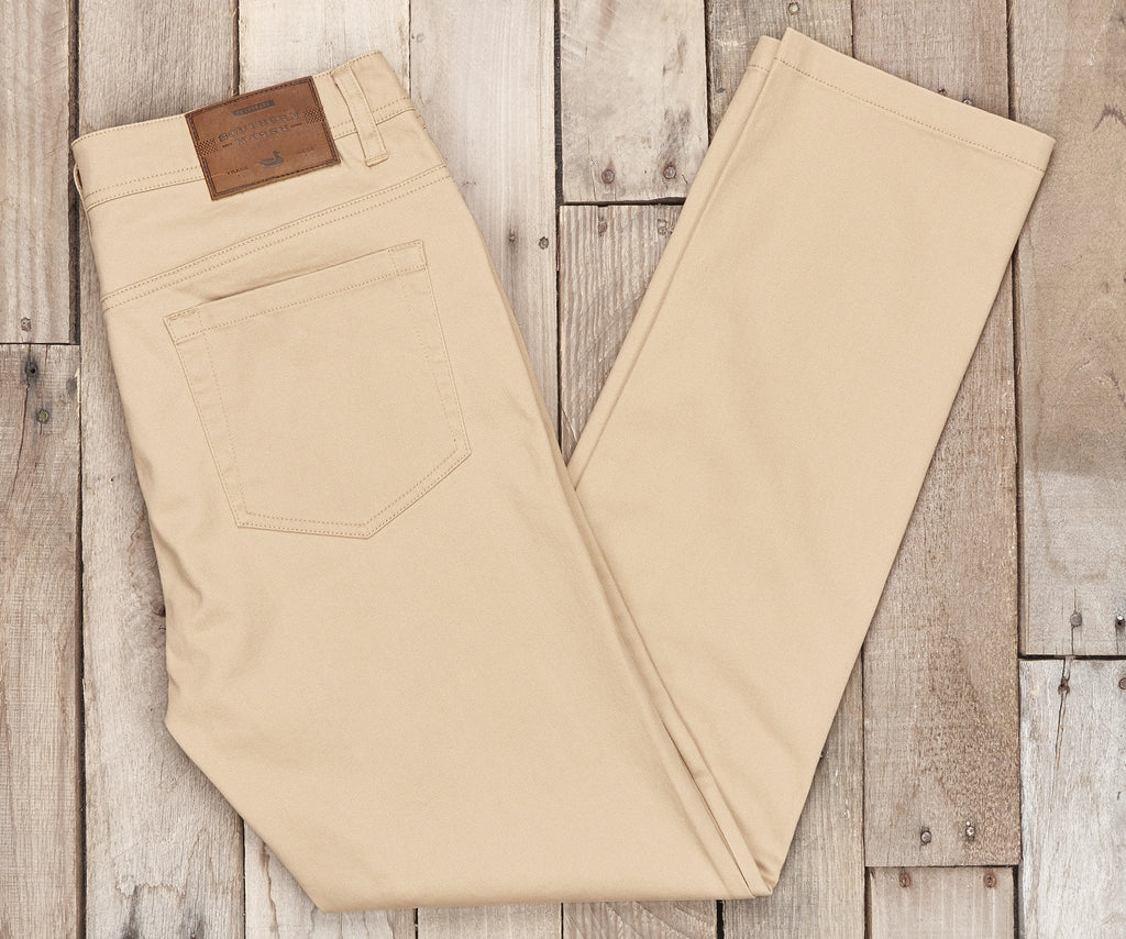 Khaki Brazos | Brazos Stretch Twill Pant | 34in. Inseam | Men's Pants