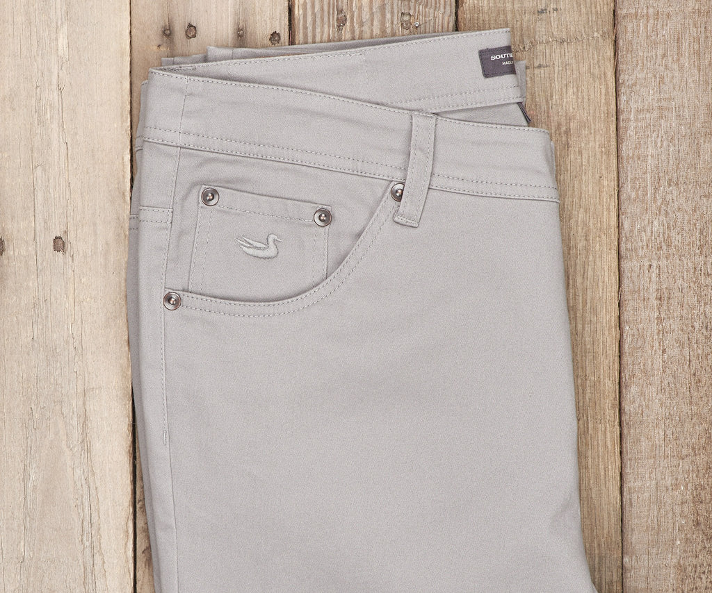 Washed Gray Brazos | Brazos Stretch Twill Pant | 34in. Inseam | Men's Pants