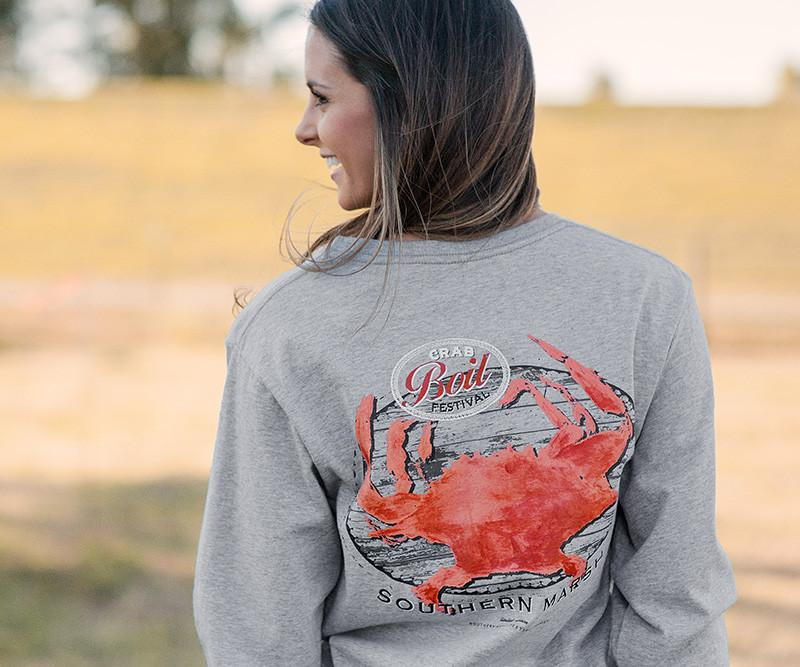 Crab Boil Festival Tee - Long Sleeve