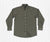 Dark Green and Olive | Bristol Performance Plaid Dress Shirt