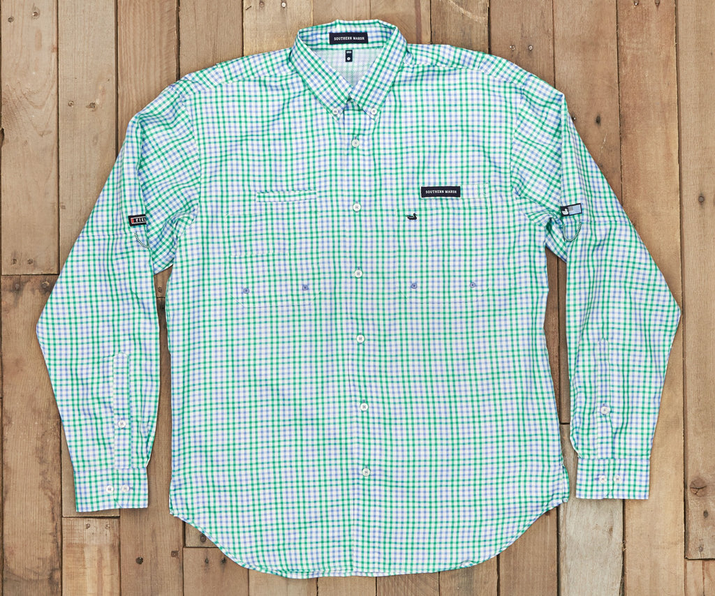 Harbor Cay Fishing Shirt - Drake Grid