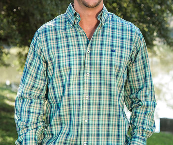 Cumberland Plaid Dress Shirt
