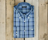 Navy and Lavender | Cumberland Plaid Dress Shirt