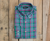 Navy and Pink | Cumberland Plaid Dress Shirt