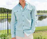 Ocean Green Perdido | Perdido Fishing Shirt | Long Sleeve | Front