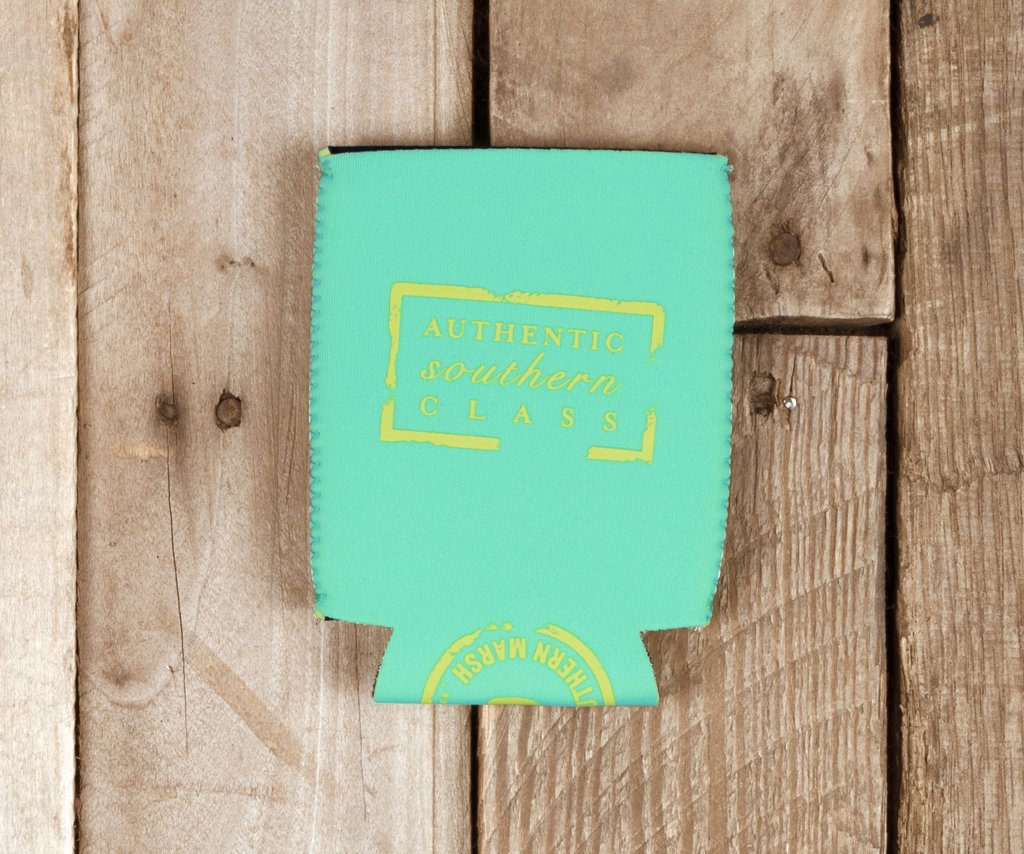 Bimini Green with Electric Lime | Coozie