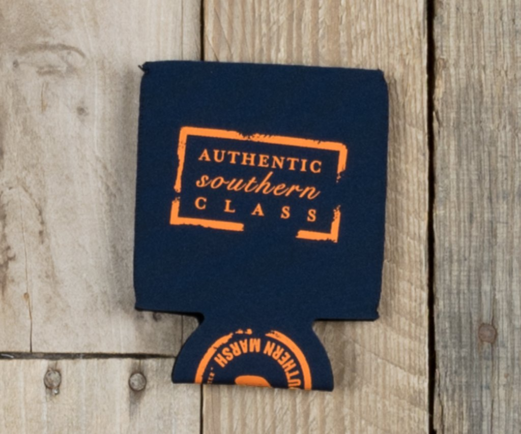 Navy with Orange | Coozie