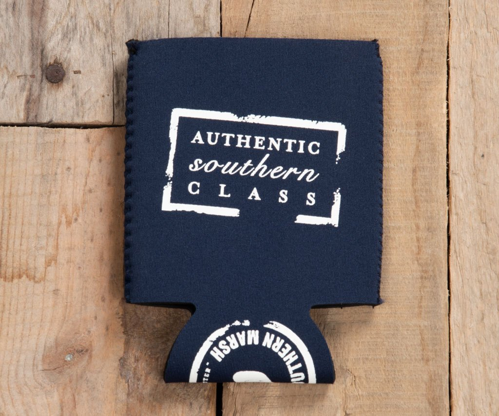 Navy with White | Coozie