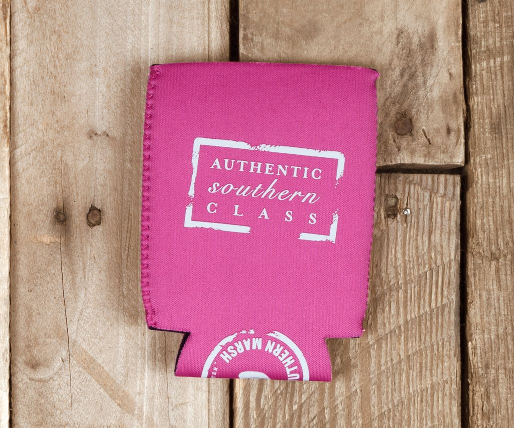 Pink with White | Coozie