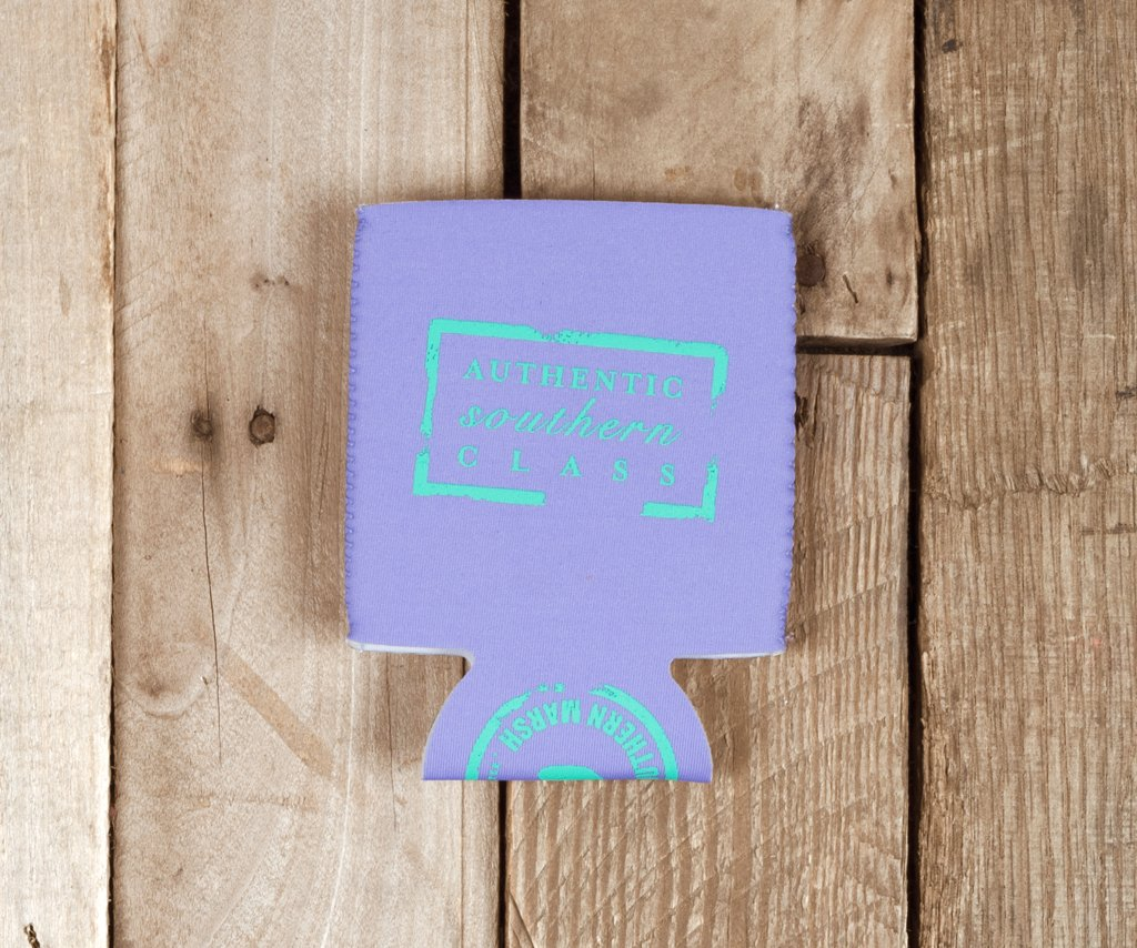 Wharf Purple with Teal | Coozie