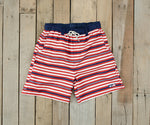 Youth Dockside Swim Trunk - Stripes