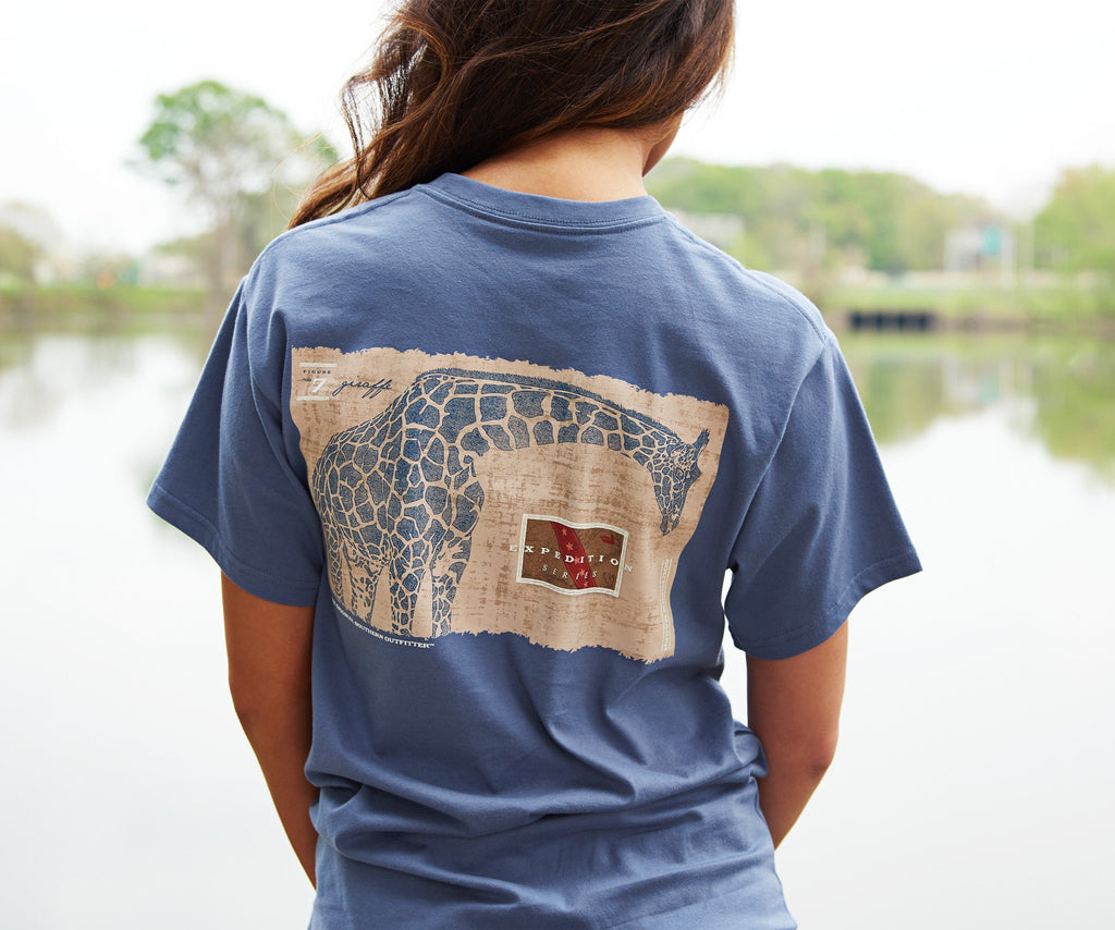 Expedition Series Tee - Giraffe