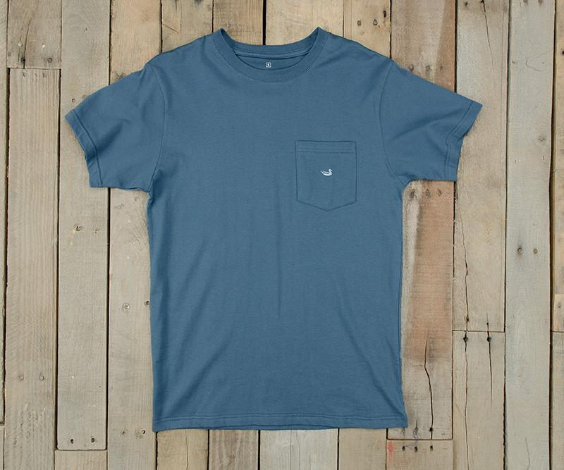 Embroidered Pocket Tee