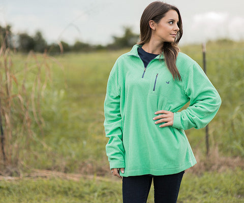 FieldTec™ Dune 1/4 Zip Fleece Pullover - Vibrants