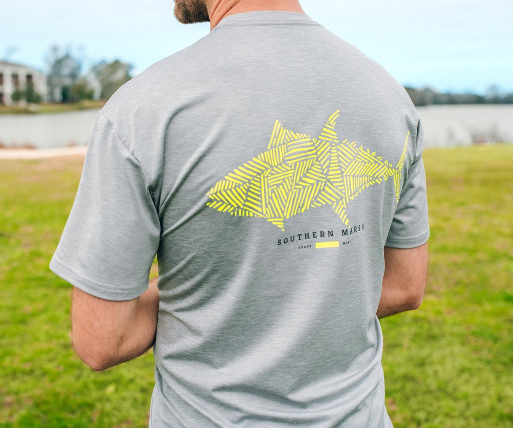FieldTec™ Heather Performance Tee - Tuna