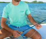 Bimini Green | FieldTec™ Heathered Tee | Trademark | Lifestyle