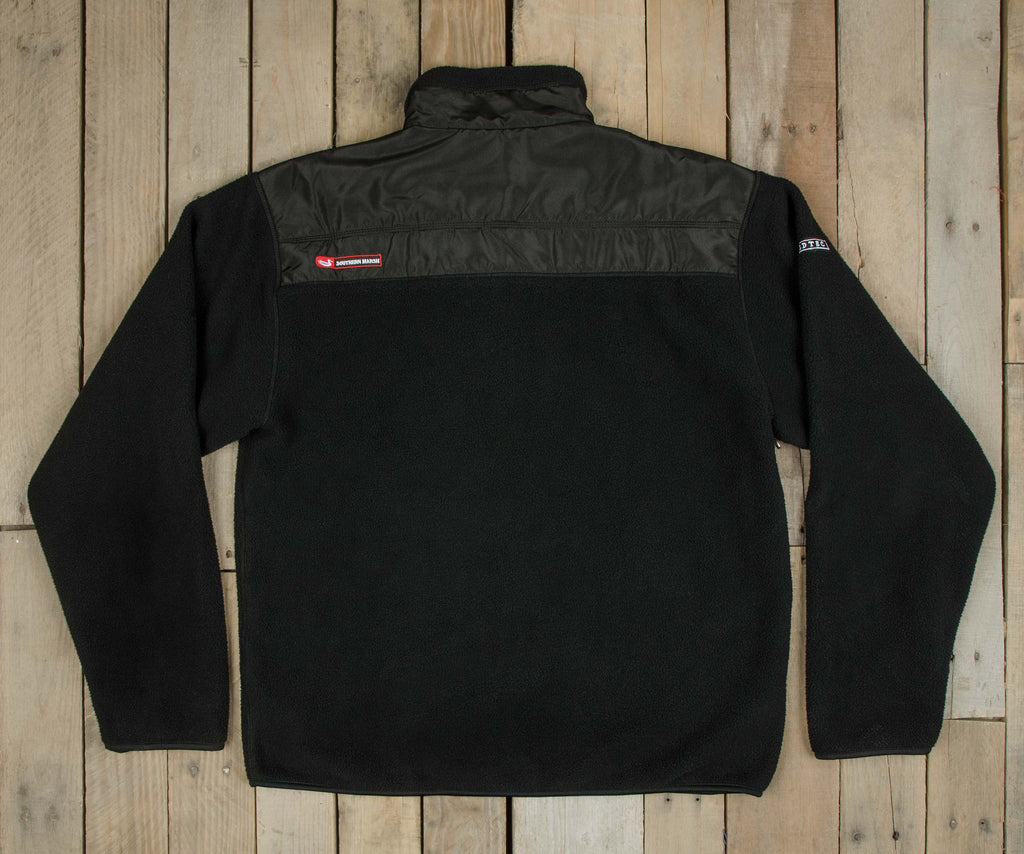Onyx Black with Black Nylon | FieldTec™ Fleece Jacket | Back