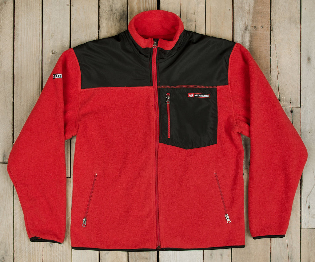 Red | FieldTec™ Fleece Jacket