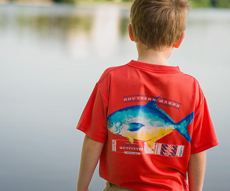 Youth FieldTec™ Outfitter Collection Tee - Pompano