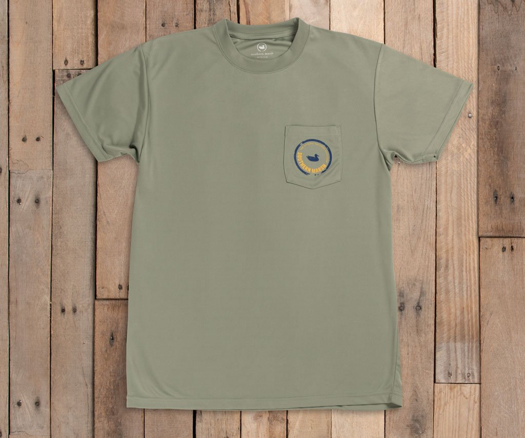 FieldTec™ Outfitter Collection Tee | Roosterfish | Bay Green