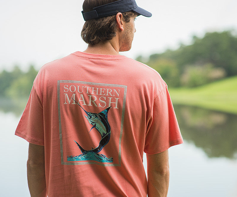 Blue Marlin Fishing Tee