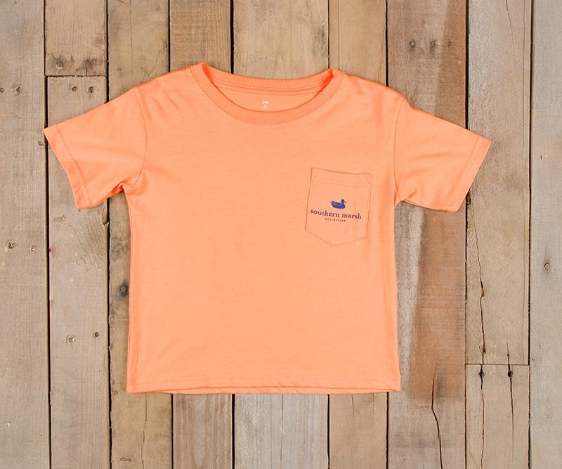 Youth Blue Marlin Fishing Tee