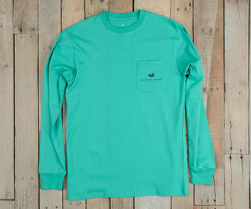 blue fishing shirt