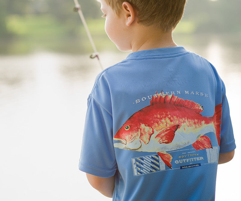 Youth FieldTec™ Outfitter Collection Tee - Snapper