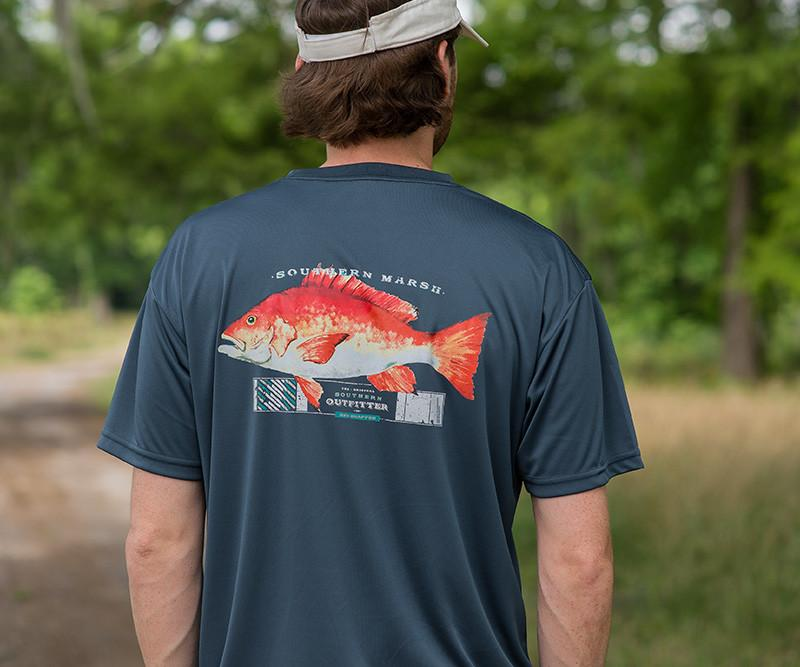 FieldTec™ Outfitter Collection Tee - Snapper