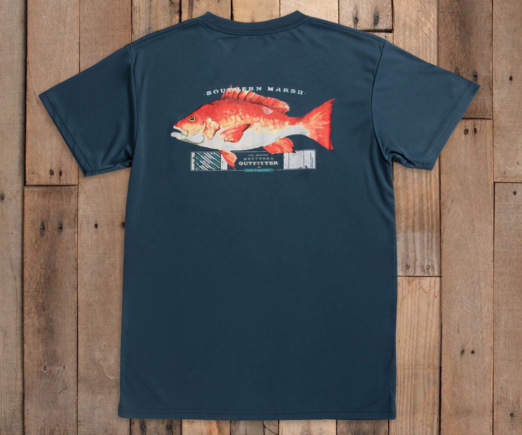 FieldTec™ Outfitter Collection Tee | Snapper | Slate