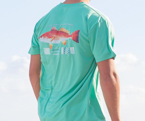 FieldTec™ Outfitter Collection Tee - Redfish
