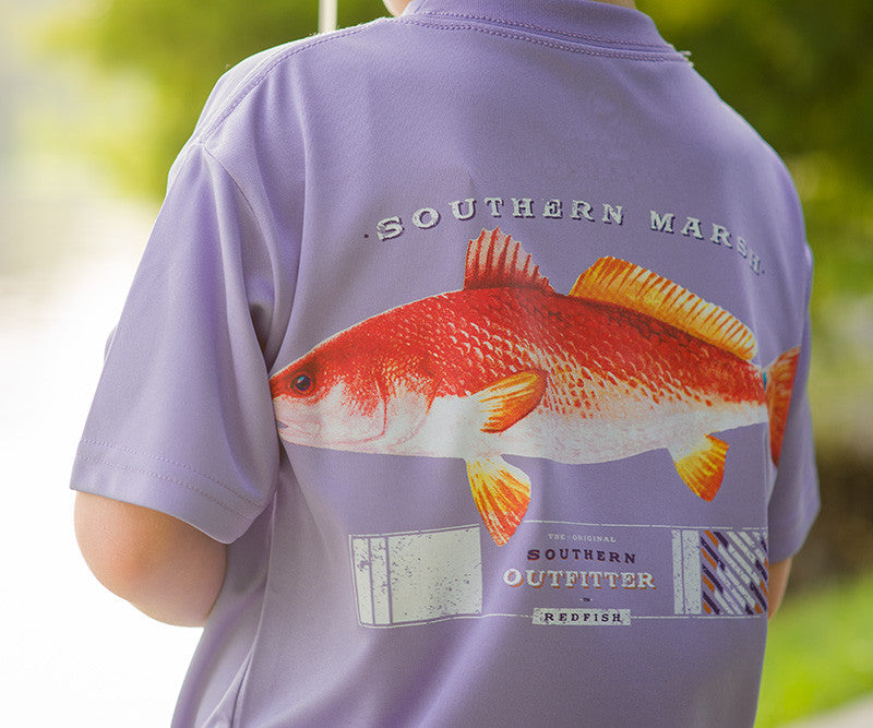 Youth FieldTec™ Outfitter Collection Tee - Redfish