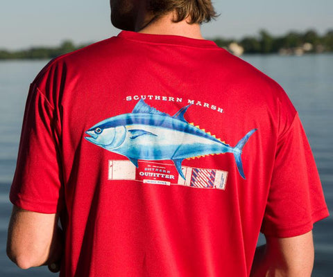 FieldTec™ Outfitter Collection Tee - Tuna