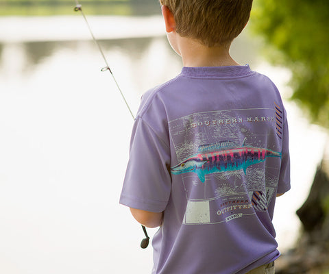 Youth FieldTec™ Outfitter Collection Tee - Wahoo