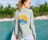 Bay Green | FieldTec™ Comfort Long Sleeve Tee | Retro Riptide | Lifestyle
