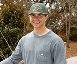 Burnt Sage | Trucker Hat | Delta Duck | Front